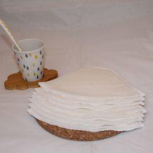 Filtre à Café Lavable Tissu Bio