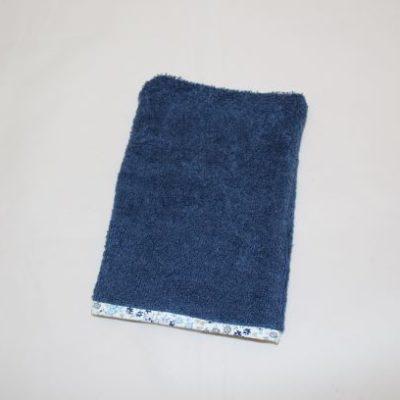 Gant De Toilette Adulte Couleur Bleu Marine