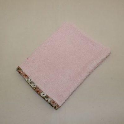 Gant De Toilette Adulte Couleur Rose Pâle