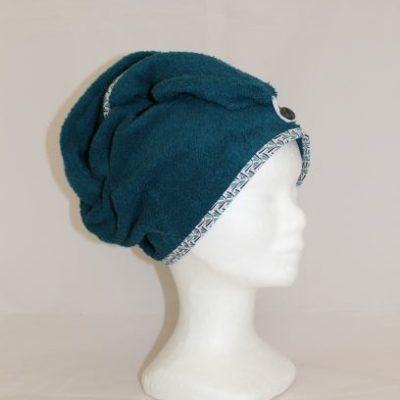 Serviette Cheveux Couleur Bleu 2